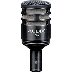Audix D6 Sub Impulse Kick Drum Mic (D6)
