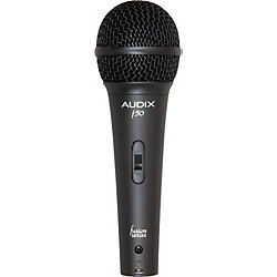 Audix F50-S Handheld Dynamic Vocal Microphone (F50-S)