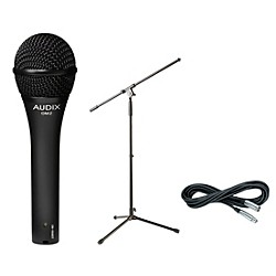Audix OM-2 Mic with Cable and Stand (OM2PACK)
