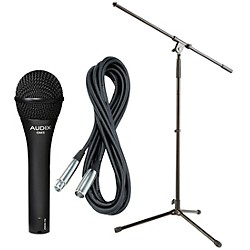 Audix OM-5 Mic with Cable and Stand (OM5PACK)