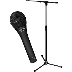 Audix Ultimate Support OM-2 Microphone with PRO-T-T Telescoping Boom Mic Stand Pack (OM2-PROTT)