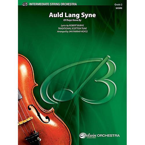Alfred Auld Lang Syne String Orchestra Grade 2 Set-thumbnail
