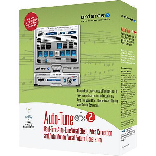 Antares Auto Tune EFX2 Vocal Processing Software