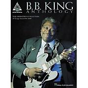 Hal Leonard B.B. King Anthology Guitar Tab Book
