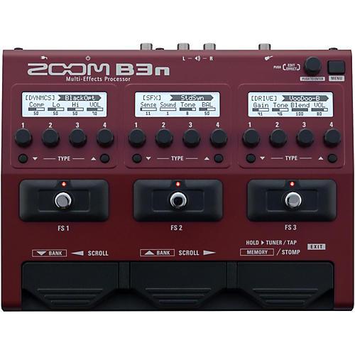 Zoom B3n Multi-Effects Bass Guitar Processor-thumbnail