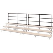 Midwest Folding Products BACKRAILS FOR STANDING CHORAL RISERS