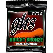 GHS BB40M 80/20 Bronze Medium Acoustic Guitar Strings