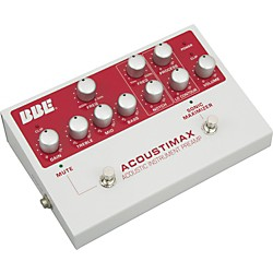 BBE Acoustimax Sonic Maximizer/Preamp Pedal (1-ACOUSMAX)