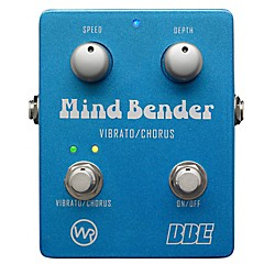 BBE Mind Bender Vibrato/Chorus Guitar Effects Pedal (MB-2)