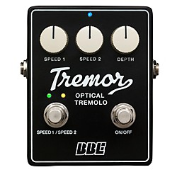 BBE Tremor Analog Tremolo Guitar Effects Pedal (TR-63B)
