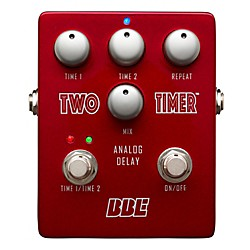 BBE Two Timer Analog Delay Guitar Effects Pedal (TT-2)