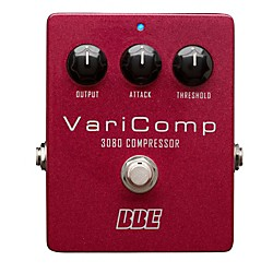 BBE Varicomp OTA Compressor Guitar Effects Pedal (VC-3080)