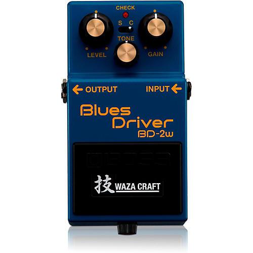 Boss BD-2W Blues Driver Waza Craft Guitar Effects Pedal-thumbnail