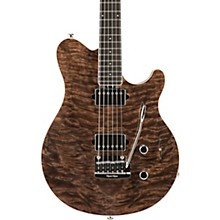 Ernie Ball Music Man BFR Axis Super Sport Electric Guitar with Quilt Top and Mahogany Back