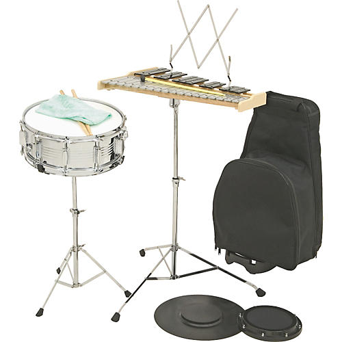 Verve BK2000R Combination Percussion Bell and Snare Learning Kit W/ Rolling Cart Old-thumbnail