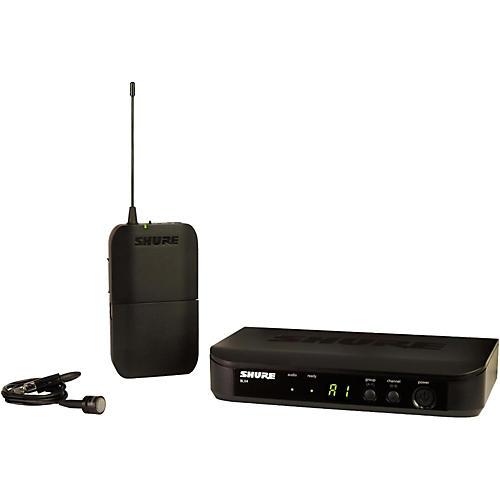 Shure BLX14/PG85 Wireless System with Unidirectional Lavalier Mic-thumbnail