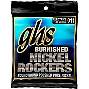 GHS BNR-M Burnished Nickel Medium Electric Guitar Strings