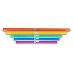 BOOMWHACKERS 5-Note Bass Chromatic Set (Lower Octave) Boomwhackers Tuned Percussion Tubes (BWKG)