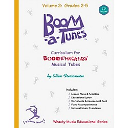 BOOMWHACKERS Boom-A-Tunes Curriculum Volume 2 (Book/CD) (BT2B)