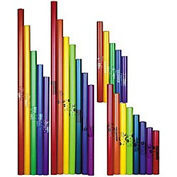 BOOMWHACKERS Complete Upper & Lower Octave Sets Boomwhackers Tuned Percussion Tubes (KIT772685)