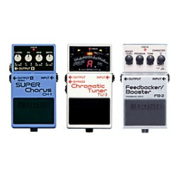 BOSS Buy All 3 Herman Li Boss Pedals (CH-1, FB-2, TU-3) And Get A Free BCB30 Pedalboard (Herman Li Kit)