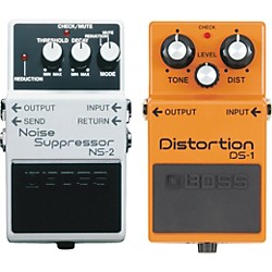 BOSS DS-1 and NS-2 Guitar Effects Pedals (KIT773089)