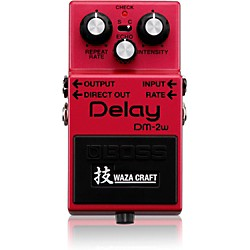 BOSS Delay Waza Craft Guitar Effects Pedal (DM-2W)