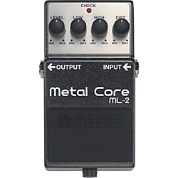 BOSS ML-2 Metal Core Distortion Pedal (ML-2)