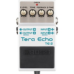 BOSS TE-2 Tera Echo Guitar Effects Pedal (TE-2)