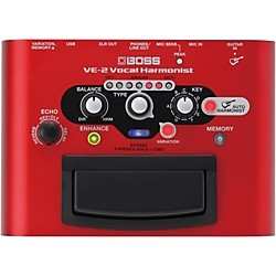 BOSS VE-2 Vocal Harmonist Multi-Effects Pedal (VE-2)