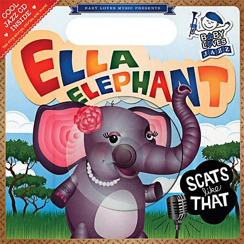 Penguin Books Baby Loves Jazz: Ella Elephant Scats Like That Book & CD-thumbnail