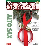 Cherry Lane Baching Around The Christmas Tree (Alto Sax) Book/CD