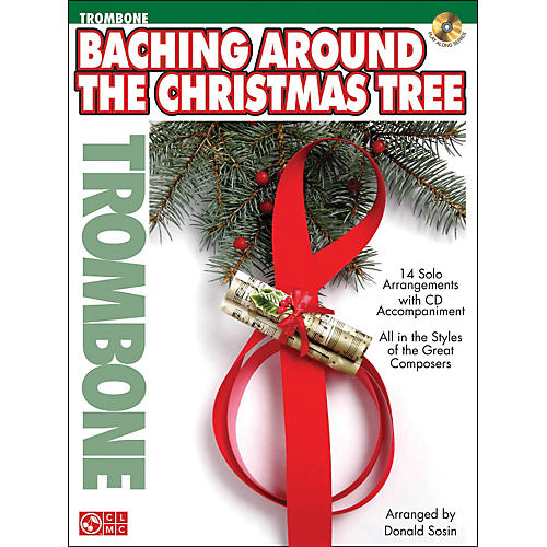 Cherry Lane Baching Around The Christmas Tree (Trombone) Book/CD-thumbnail