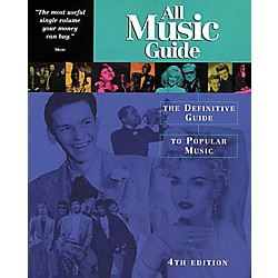 Backbeat Books All Music Guide to Popular Music Book (330733)