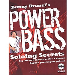 Backbeat Books Bunny Brunel's Power Bass: Soloing Secrets (Book/CD) (331135)