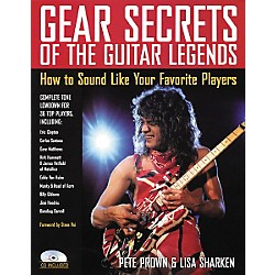 Backbeat Books Gear Secrets of the Guitar Legends (Book/CD) (331073)