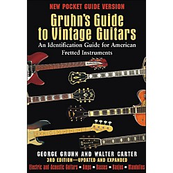 Backbeat Books Gruhn's Guide To Vintage Guitars - Pocket Edition (332957)