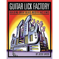 Backbeat Books Guitar Lick Factory Book (331013)