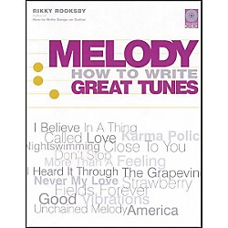 Backbeat Books Melody - How to Write Great Tunes (Book and CD Package) (331250)