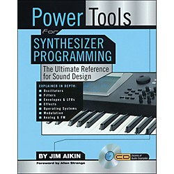 Backbeat Books Power Tools For Synthesizer Programming - The Ultimate Reference For Sound Design Book/CD-ROM (331137)