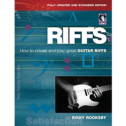 Backbeat Books Riffs: How To Create And Play Great Guitar Riffs: Updated And Revised (332860)