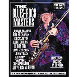 Backbeat Books The Blues-Rock Masters (Book/CD) (331011)