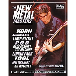 Backbeat Books The New Metal Masters (Book/CD) (331174)
