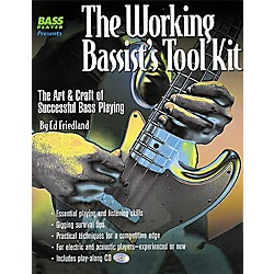 Backbeat Books The Working Bassist's Tool Kit (Book/CD) (330596)