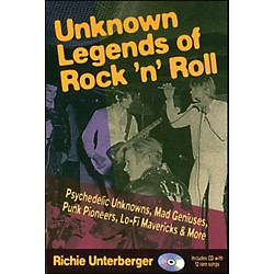 Backbeat Books Unknown Legends Of Rock 'N' Roll Book/CD (330395)