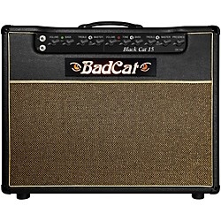 Bad Cat Black Cat 15w 1x12 Guitar Combo Amp (BC 15 112)