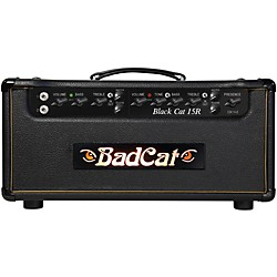 Bad Cat Black Cat 15w Guitar Head with Reverb (BC 15 R HD)