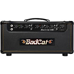 Bad Cat Black Cat 30w Guitar Head with Reverb (BC 30 R HD)
