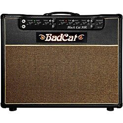 Bad Cat Black Cat R 30W 1x12 Tube Guitar Combo Amp (BLC30RUS-K112)