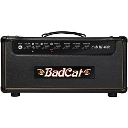 Bad Cat Cub III 40w Guitar Head with Reverb (Cub III 40  R HD)